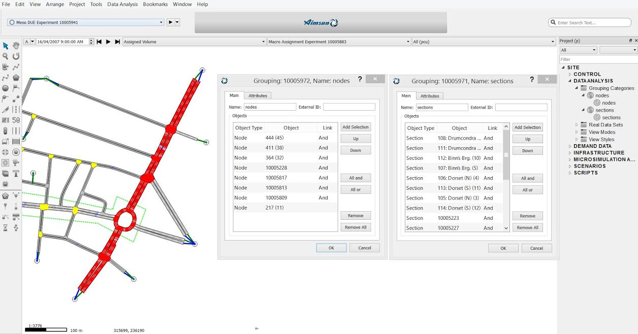 Exporting probe data using Aimsun micro API – Aimsun | Aimsun
