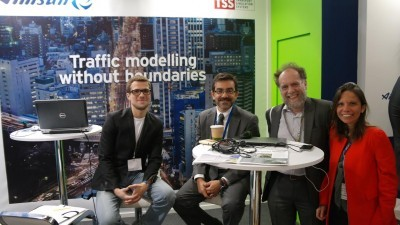 TSS and visitors at the last edition of Intertraffic Amsterdam in 2014