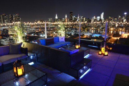 Join us for complimentary drinks and canapés at the Z Hotel Rooftop Bar