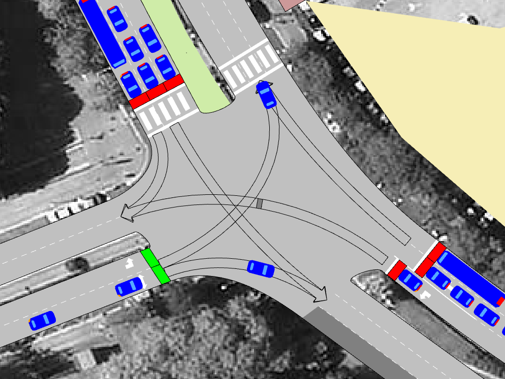 New features in Aimsun traffic modelling software for transport planning
