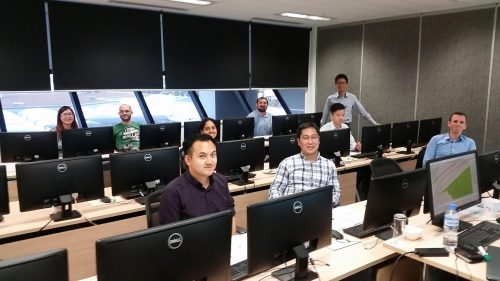 Aimsun training course, Auckland