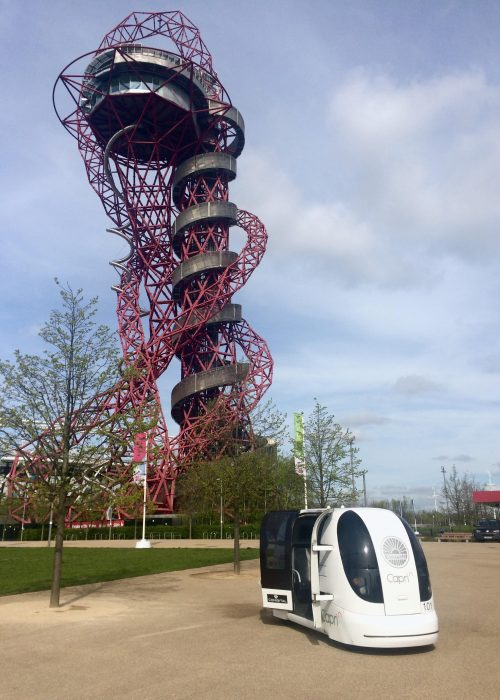 CAPRI: Aimsun wins new role in UK Government-funded consortium to lead R&D in connected and autonomous POD on-road implementation