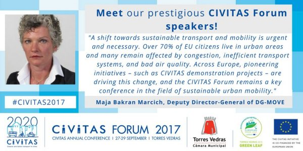 Aimsun traffic modelling software at CIVITAS Forum Conference