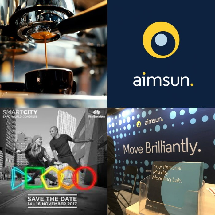 Aimsun at Smart City Expo World Congress, Barcelona, Spain