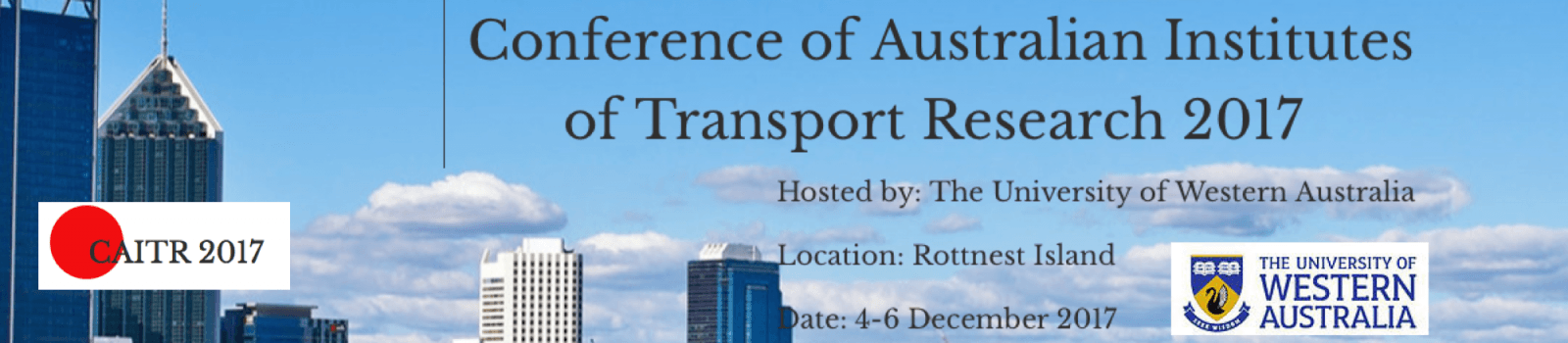 The Conference of Australian Institutes of Transport Research (CAITR)