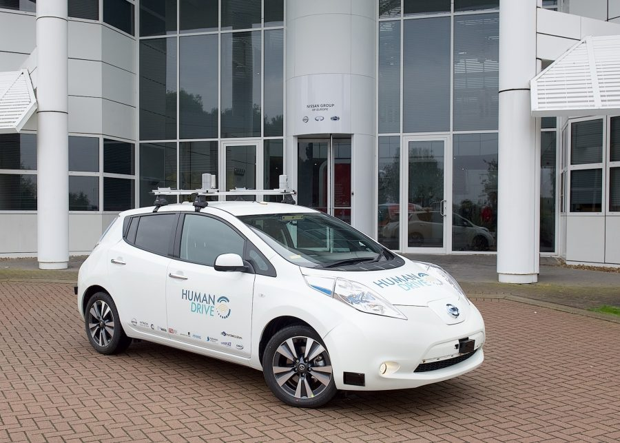 HumanDrive Autonomous Car Project seeks to emulate natural human driving in UK driving environment
