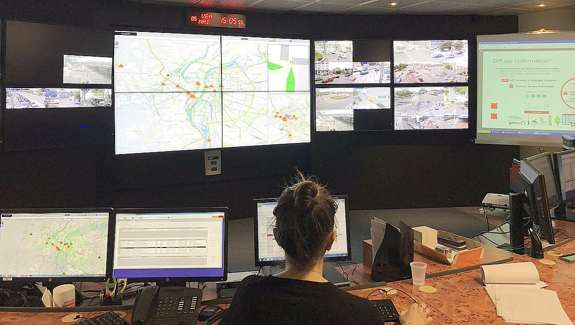 CRITER - the Lyon traffic management control centre