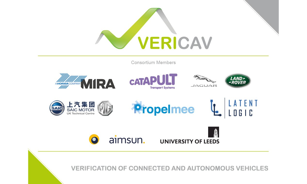 VeriCAV: UK Government announces project to test Connected and Autonomous Vehicles