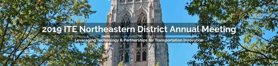 2019 ITE Northeastern District Annual Meeting