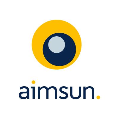Aimsun Vertical logo CMYK