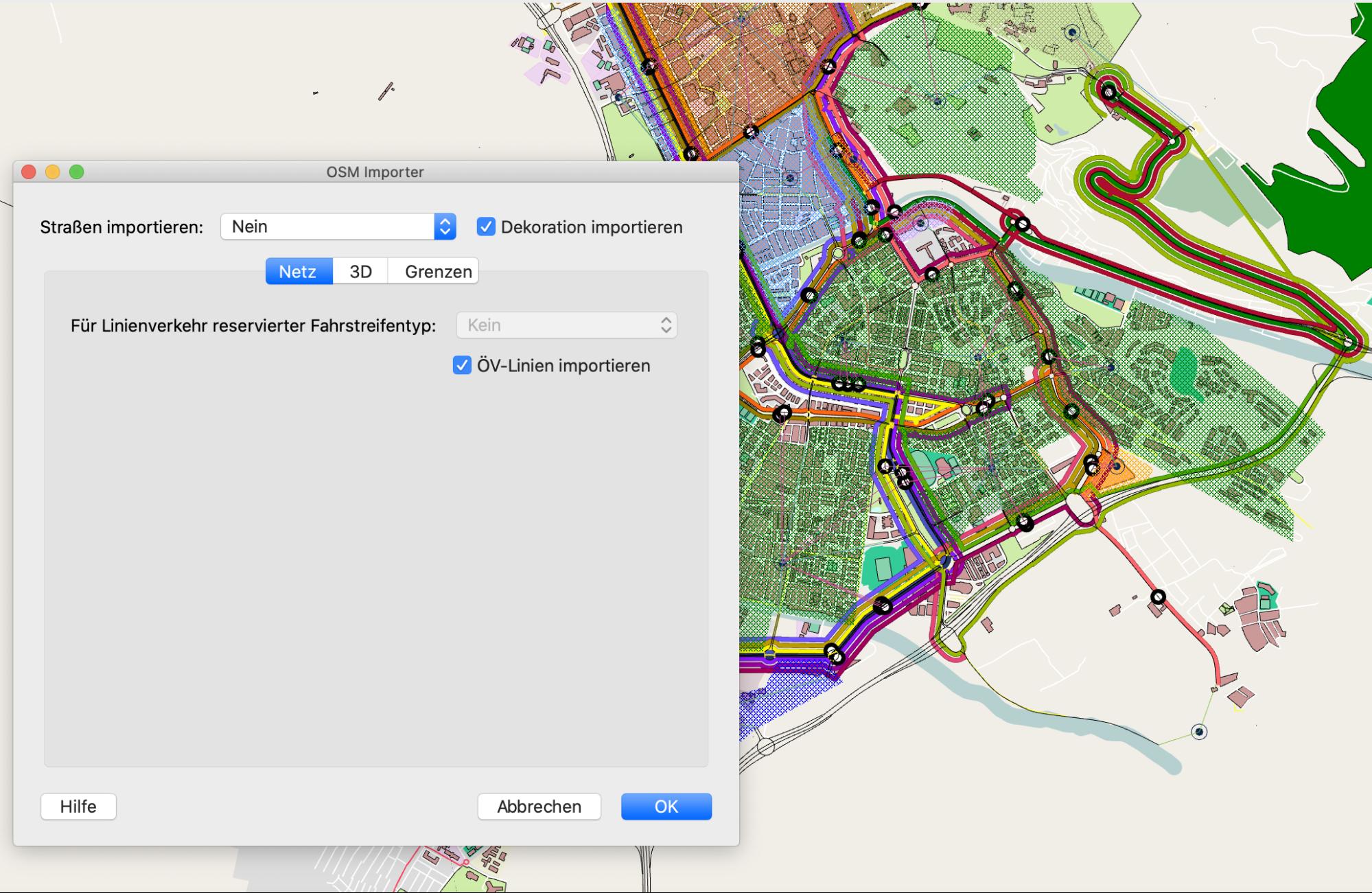 OpenStreetMap Public Transport Data Importer