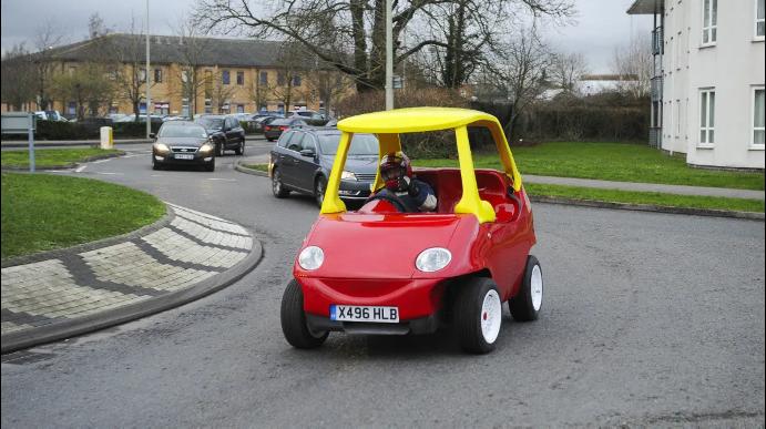Figure 5: An 'untypical car