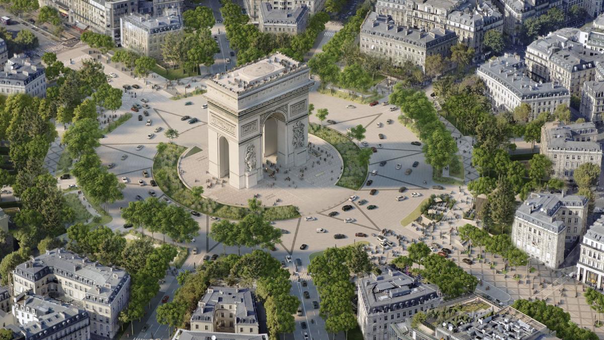 Green light for major revamp of the Champs Elysées avenue in Paris